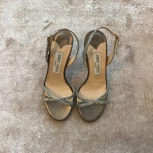 Jimmy Choo Glittered Sandal